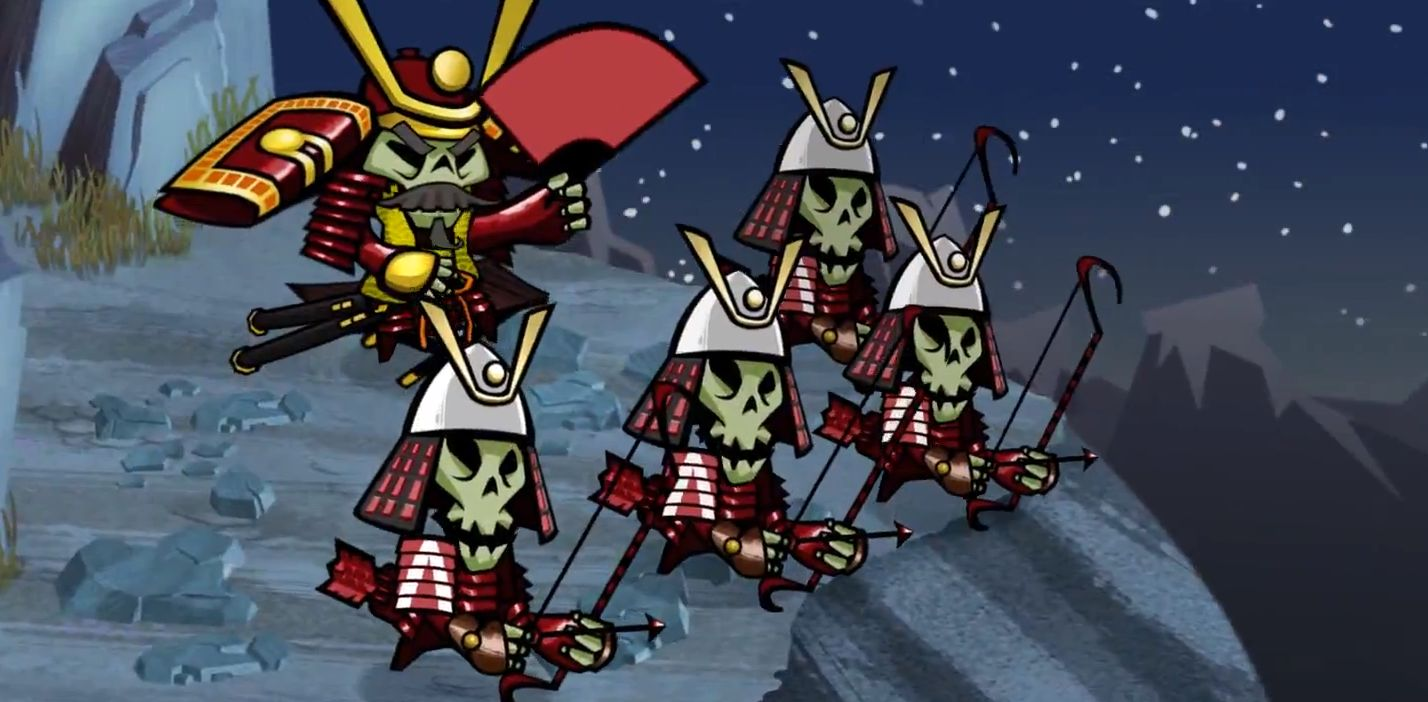 Skulls of the Shogun, one of the best games of 2013.